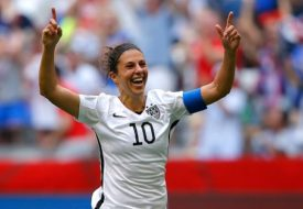 Carli Lloyd Net Worth 2019, Age, Height, Weight