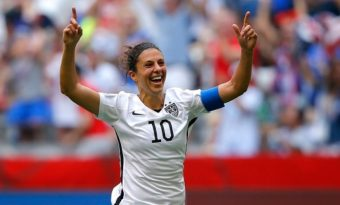 Carli Lloyd Net Worth 2016